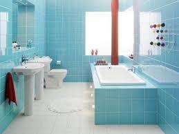 blue bathroom design ideas remodel idea for small bathroom design with light blue wall tiles