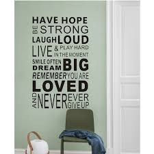 inspirational wall decals quotes word wall sticker quotes