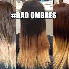 Hair Meme - donald trump bad ombre hair meme twitter popsugar beauty