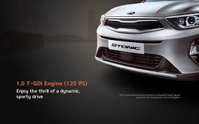 kia stonic compact crossover kia motors worldwide