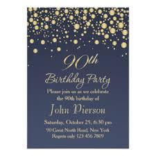 90th birthday party invitations u0026 announcements zazzle