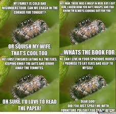 Misunderstood Spider Meme 16 Pics - misunderstood spider meme bed