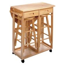 Target Breakfast Table Stools Store Under Table Leaf Folds Down - Kitchen table with stools underneath