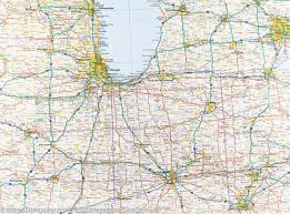 Map Of The United States With Landforms by Map Of The Midwest Usa 3 Reise Know How U2013 Mapscompany