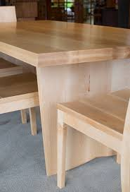 Custom Maple Dining Table The Joinery Portland Oregon - Maple kitchen table