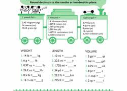 5th grade measurement worksheets u0026 free printables education com