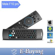 android keyboard with microphone aliexpress buy mele f10 pro fly air mouse usb 2 4ghz
