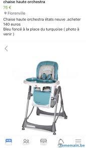 orchestra chaise haute chaise haute bébé orchestra a vendre 2ememain be