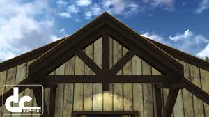 Barn Home Floor Plans by Barn Home 60 U0027 Rustic Barn Home Floor Plans Dc Building Youtube