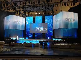 stage design projection led life vantage global