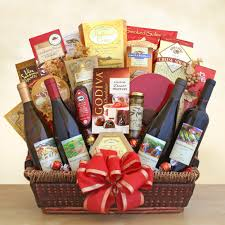 wine and chocolate gift baskets corporate gifts wine shopping mall