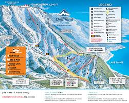 Map Of Colorado Ski Areas by Trail Map Diamond Peak Ski Resort