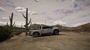 nissan titan off road nissan titan warrior 2017 off road handling gta5 mods com