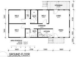 House Plans Simple Rectangular House Floor Plans Kerala Modern Rectangular House Plans 3 Bedroom 2 Bath