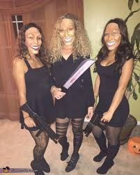 Halloween Costume 2 Girls Purge Group Halloween Costume Photo 3 4