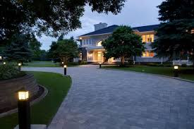 Outdoor Driveway Lighting Fixtures Paver Driveways In Minneapolis St Paul Minnesota Southview