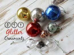 being mvp how to make glitter ornaments kid friendly craft