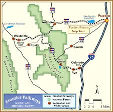 St Andrews State Park Map by Byway Maps Frontier Pathways