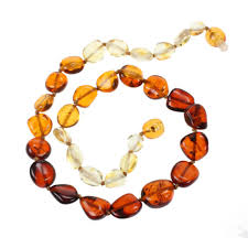amber stone necklace images Baltic amber teething necklaces on sale fast shipping jpg