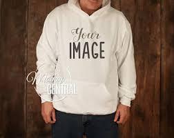 white hoodie etsy