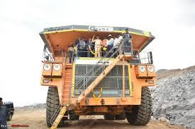 pics massive 240 ton belaz truck in india team bhp