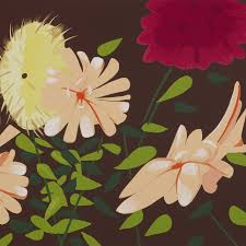 late summer flowers alex katz weng contemporary