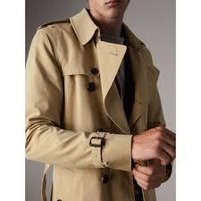 the sandringham long heritage trench coat in honey men