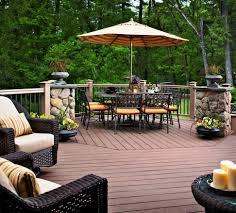 Deck Ideas Decorate Your Backyard With Deck Ideas Home Decorating Decks Haammss