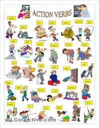 action verbs worksheet free esl printable worksheets made by