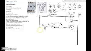 ladder diagram basics 2 safety control circuit youtube