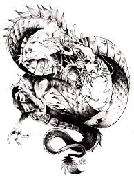 free coloring page coloring dragon chine the dragon one of