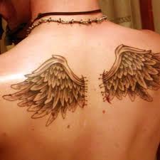 wings wings lower back on tattoochief com