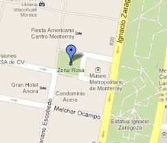 the sights and sounds of zona rosa in monterrey mexico points