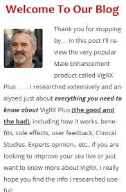 honest vigrx plus reviews shocking truth exposed 2018