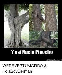 Hola Soy German Memes - yasi nacio pinocho werevertumorro holasoygerman meme on me me