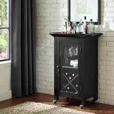 Portable Bar Cabinet Crosley Jefferson Portable Bar Cabinet Hayneedle