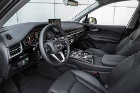 audi suv q7 interior first drive 2017 audi q7 light u0026 loaded