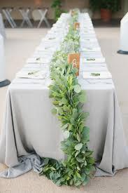 greenery garland greenery garland centerpiece elizabeth designs the wedding