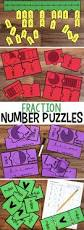 fraction number puzzles for third grade comparing fractions