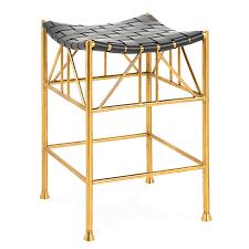 thebes counter stool modern furniture jonathan adler