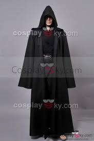 halloween jedi costume star wars anakin skywalker cosplay costume black version