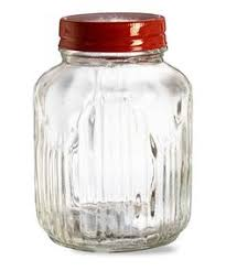 vintage glass jar kitchen storage large glass jars