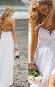 white chiffon beach prom dresses white a line formal dress
