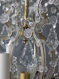 Maria Theresa Chandelier Crystal Maria Theresa Style Chandelier In Chandeliers