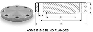 Threaded Blind Flange Ansi B16 5 Blind Flange Approved Manufacturer By Ibr Dnv