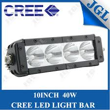 battery operated light bar rechargeable battery operated led light bar 40w 12v waterproof 4x4