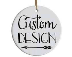 custom ornaments custom ornaments etsy