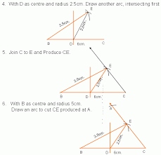 construction of triangle v high mathematics kwiznet