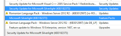 Microsoft Silver Light Silverlight Kb3182373 Is This A Security Patch Or A New Installer