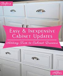 Upgrade Kitchen Cabinet Doors Kitchen Cabinet Door Edge Trim Best Cabinet Decoration